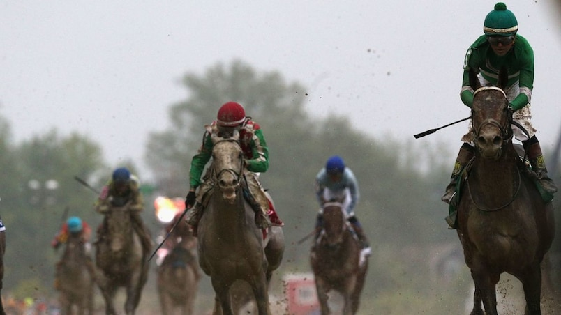 Exaggerator s'impose aux Preakness Stakes