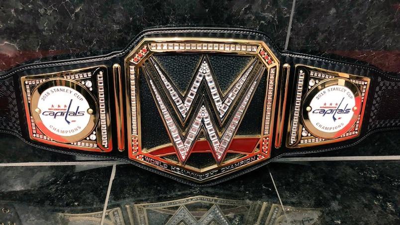 Une ceinture spéciale de la WWE pour les Capitals