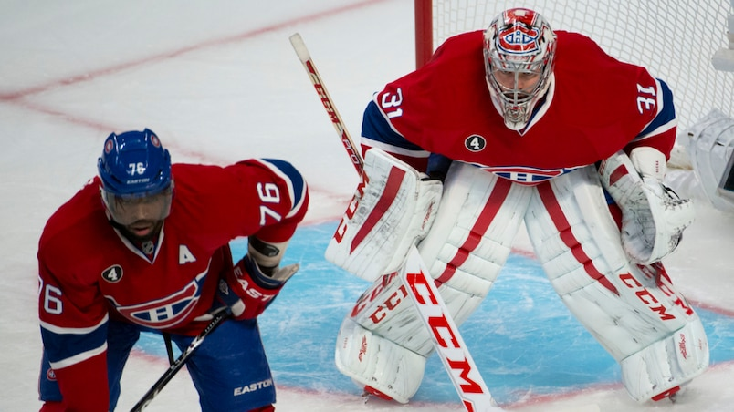 P.K. Subban et Carey Price