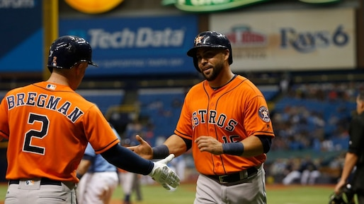 BBA-HOUSTON-ASTROS-V-TAMPA-BAY-RAYS