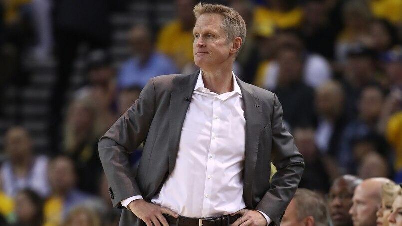 L'entraîneur des Warriors s'amuse aux dépens des Raptors