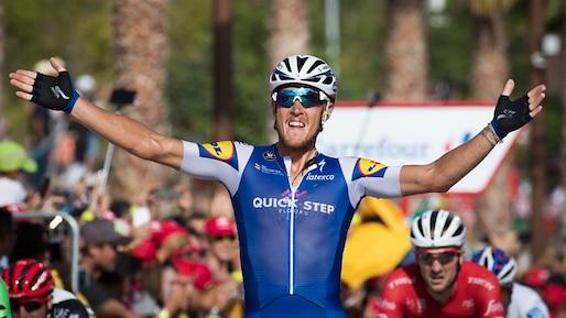 Trentin, le plus rapide au Tour d'Espagne
