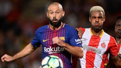 FC Barcelone: Javier Mascherano absent un mois