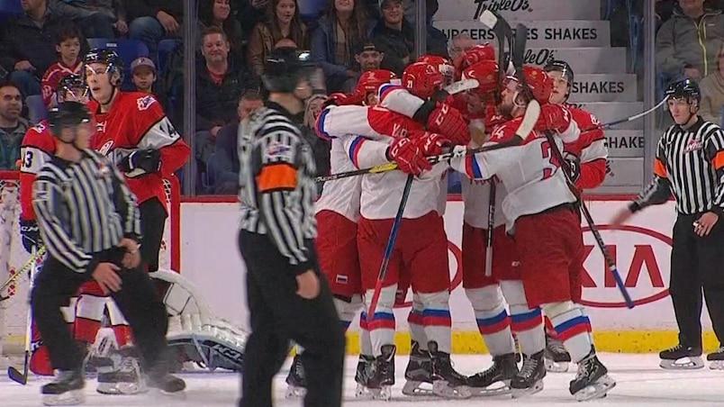 Série Canada-Russie: les espoirs russes prennent leur revanche