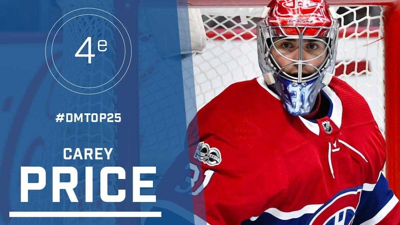 Le top 25 de la LNH: Carey Price, #4