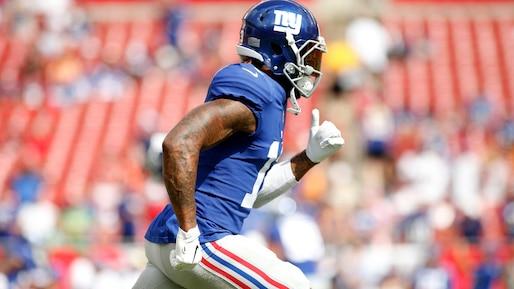 Les Giants s'attendent à revoir Odell Beckham fils bientôt