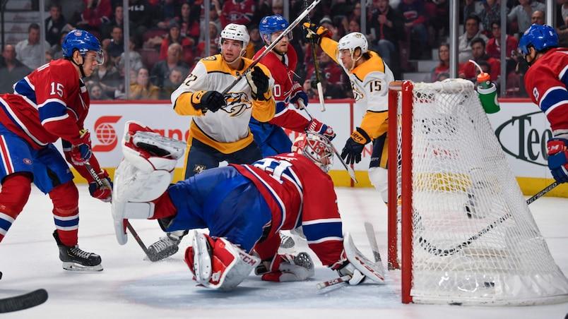 Predators c. Canadiens