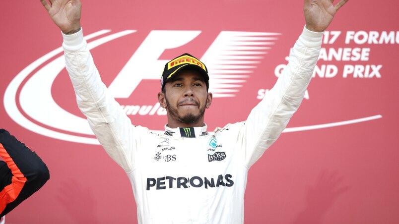 F1: Lewis Hamilton à portée de titre