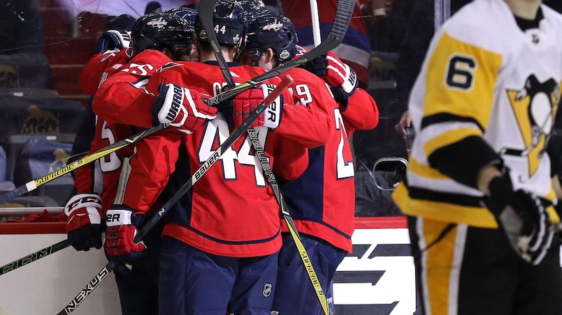 Les Capitals égalent la série contre les Penguins