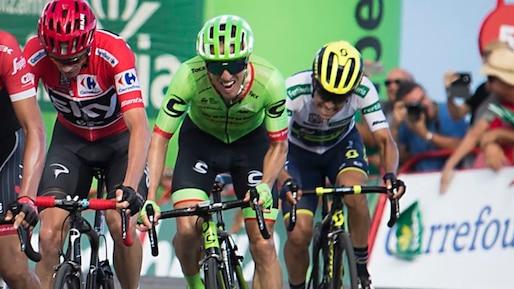 Tour d'Espagne: Michael Woods cogne à la porte du top 5