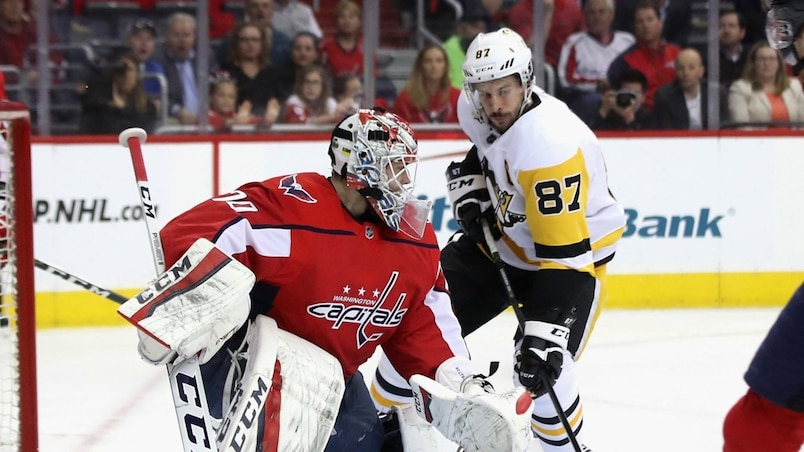 SPO-HKO-HKN-PITTSBURGH-PENGUINS-V-WASHINGTON-CAPITALS---GAME-ONE