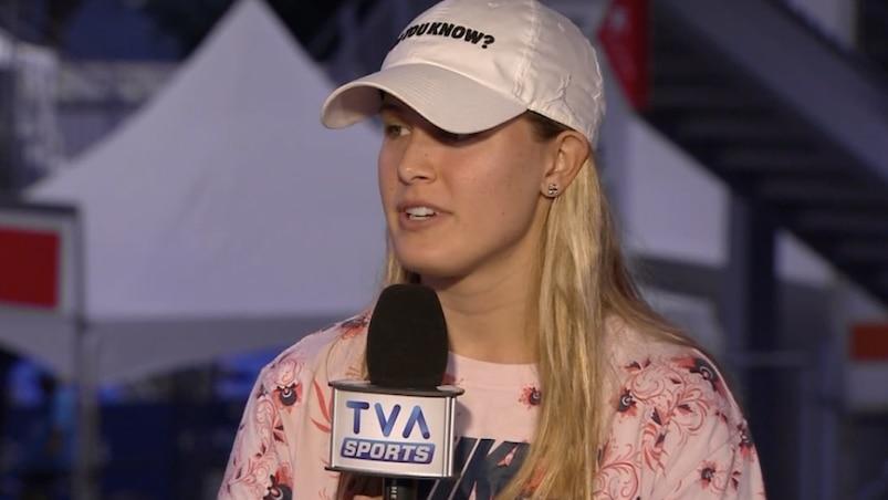 Eugenie Bouchard confiante pour le reste de la saison