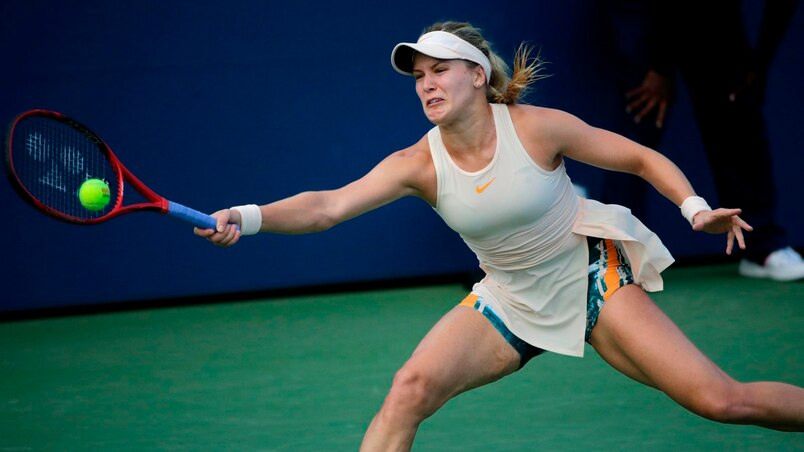 Eugenie Bouchard perd contre Victoria Azarenka