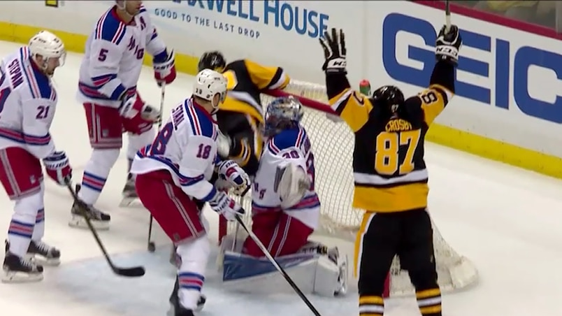 Lundqvist ébranlé puis battu...