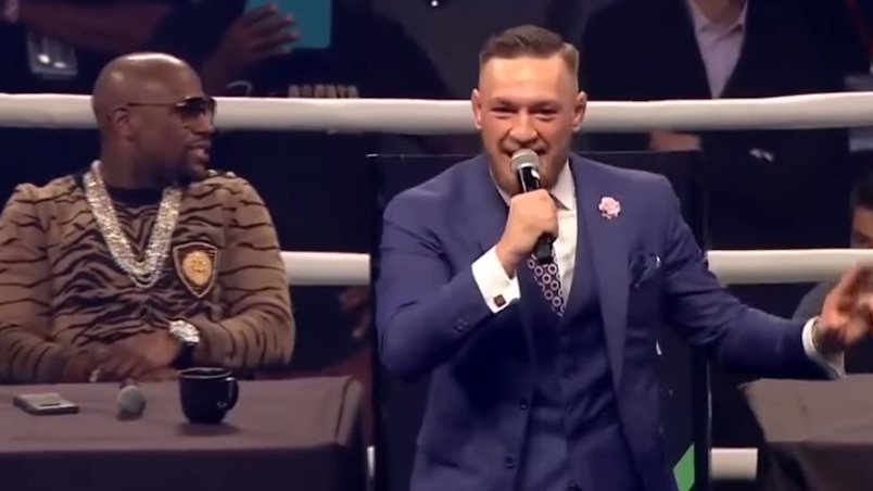 Conor McGregor rugit à Londres