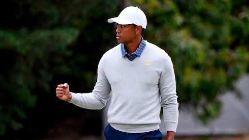 Tiger Woods de retour