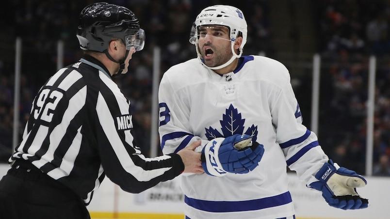 Nazem Kadri lance une flèche aux Maple Leafs