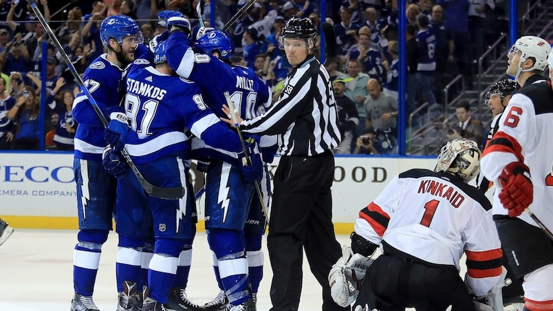 New Jersey Devils v Tampa Bay Lightning - Game Two