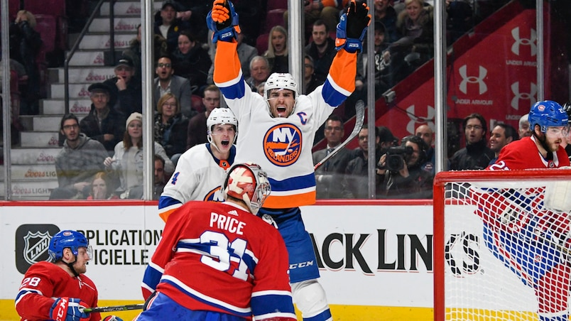 Islanders vs Canadiens