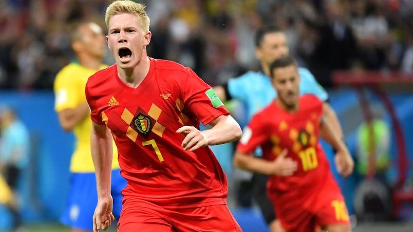 La Belgique élimine le Brésil