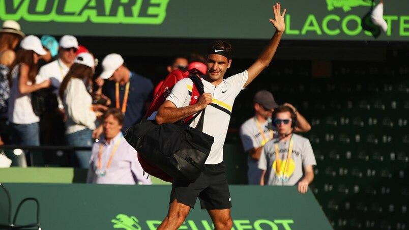 Federer réussit son retour sur le gazon