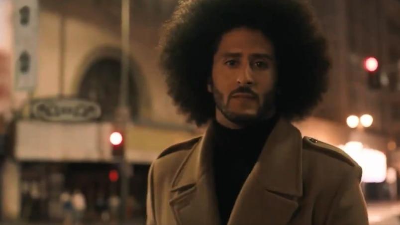 Nike dévoile sa première pub mettant en vedette Colin Kaepernick