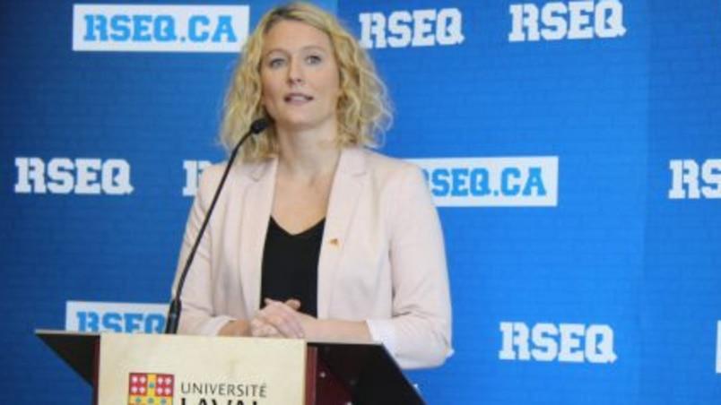 Julie Dionne à la tête du service des sports de l'Université Laval