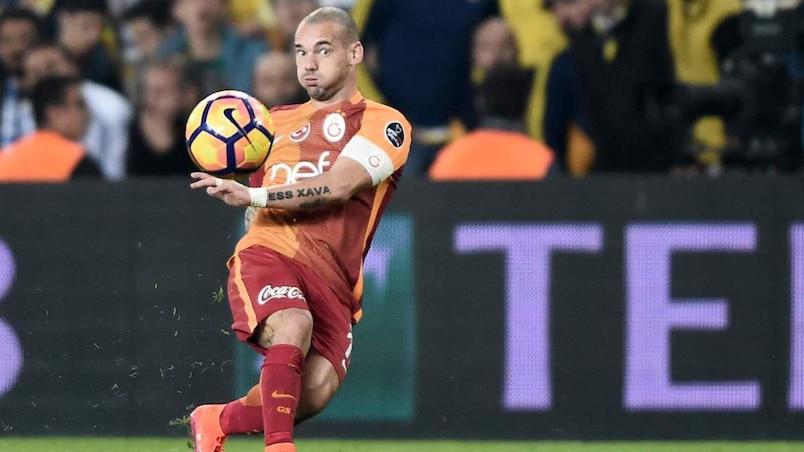 Wesley Sneijder résilie son contrat avec Galatasaray