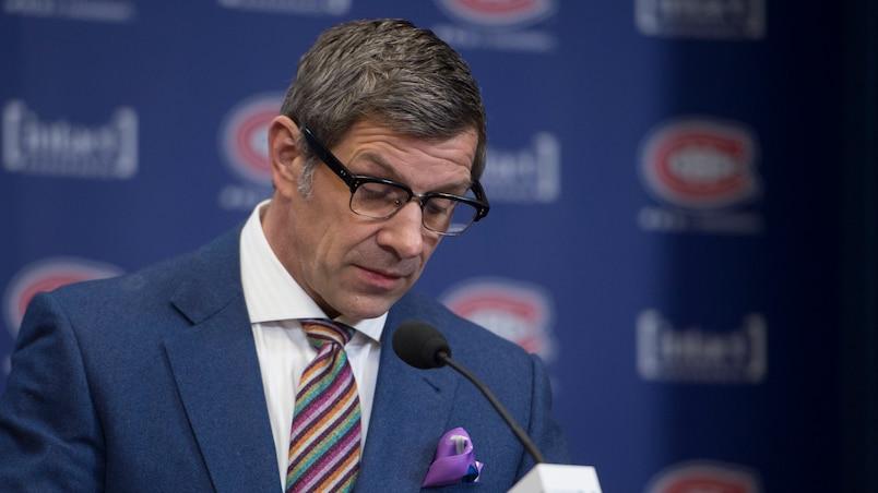 Le directeur général des Canadiens, Marc Bergevin