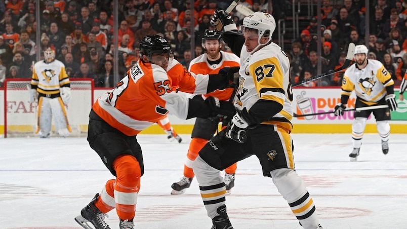 SPO-HKO-HKN-PITTSBURGH-PENGUINS-V-PHILADELPHIA-FLYERS