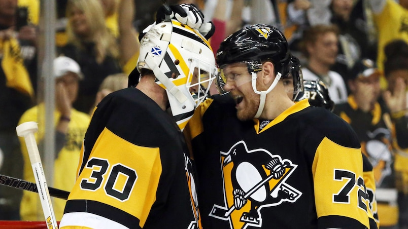 Matt Murray et Patric Hornqvist