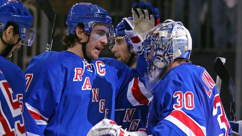 Les Rangers répliquent aux Capitals