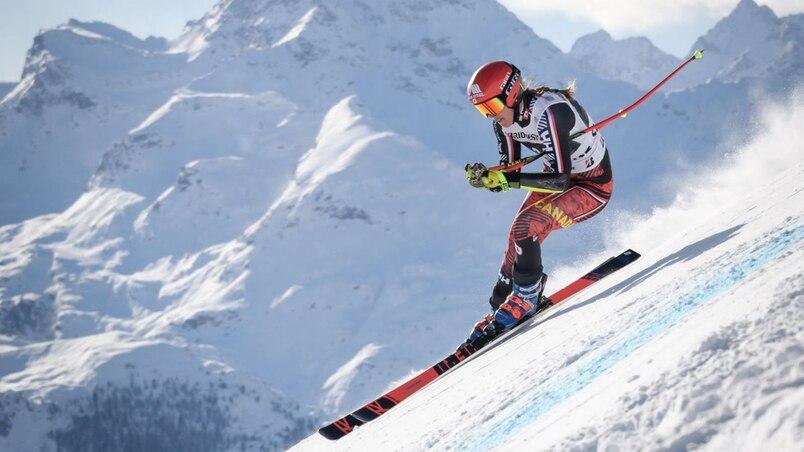 Marie-Michèle Gagnon égale le meilleur résultat de sa carrière en super-G