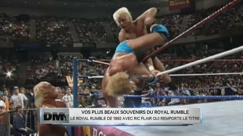 Les meilleurs moments du «Royal Rumble»