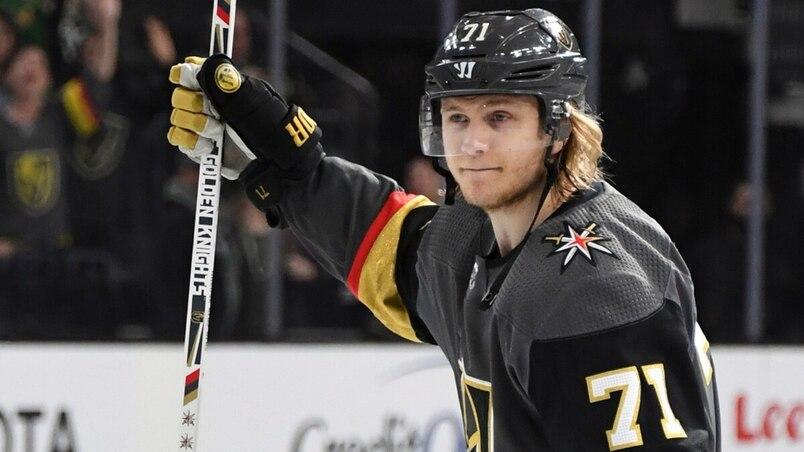 William Karlsson signe une prolongation de contrat de huit ans
