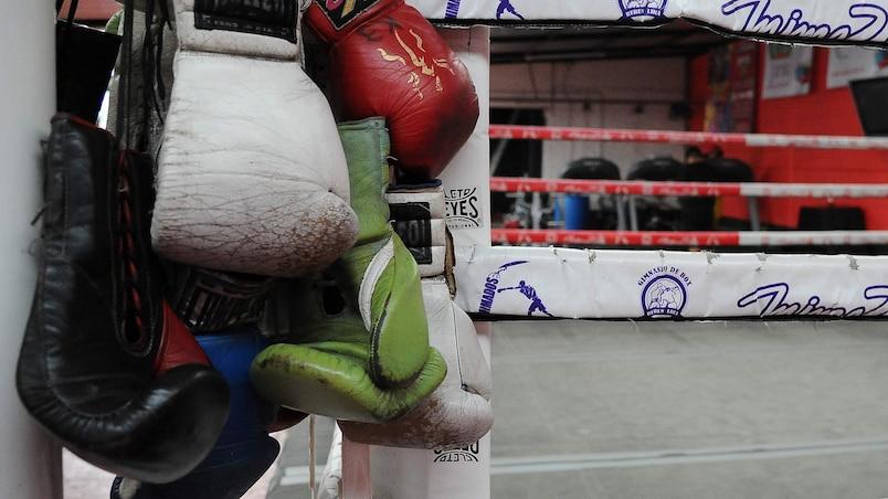 Le monde de la boxe en deuil d'Abe Pervin