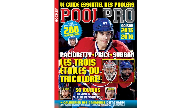 «Pool Pro», l'outil indispensable des poolers!