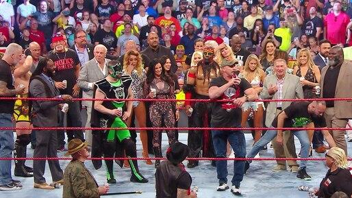 Cette semaine dans l'univers de la WWE: Raw Reunion, une occasion ratée