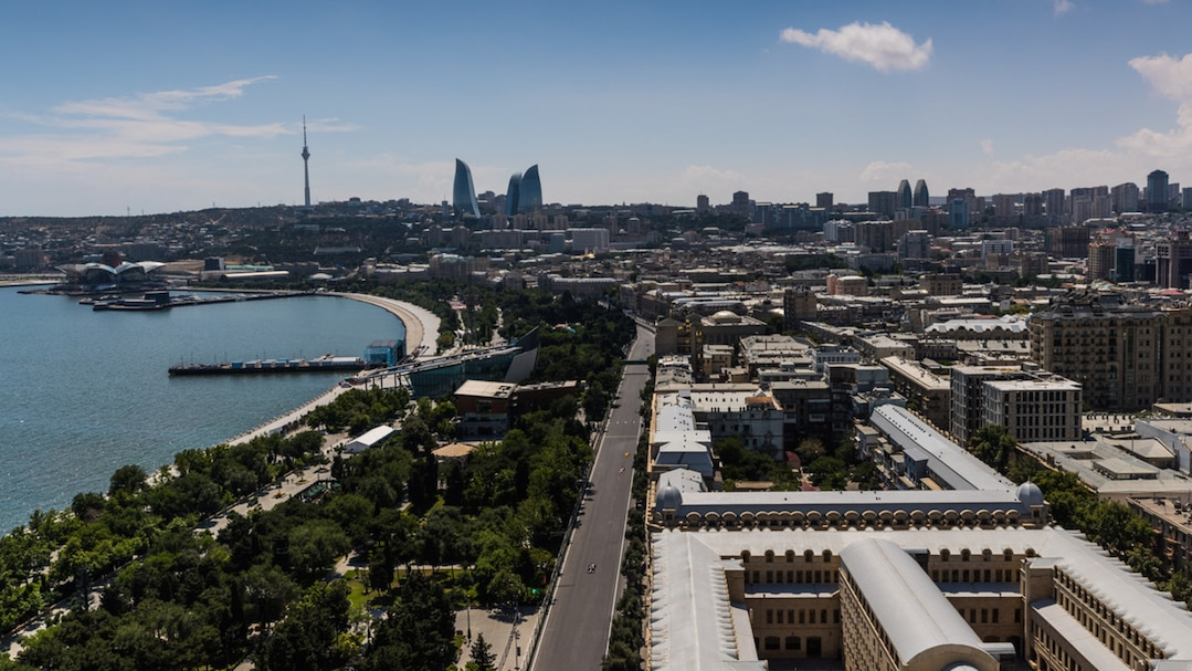 F1 Azerbaijan Grand Prix - Race Day