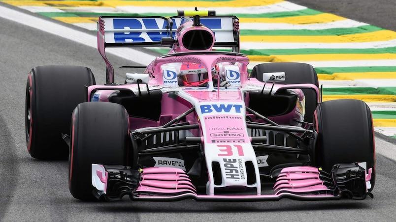Esteban Ocon s'en va chez Mercedes