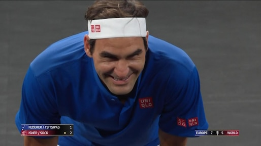 Roger Federer... là où ça fait mal!