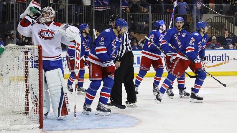 Les Rangers égalent la série 2-2