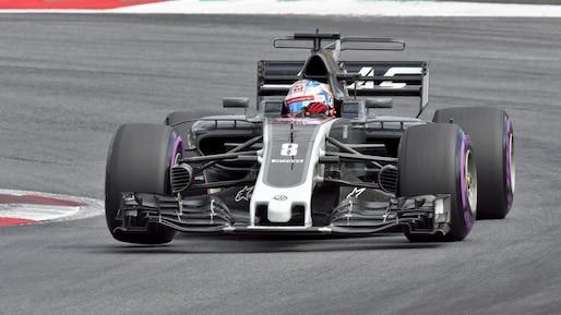 F1: Romain Grosjean demeurera chez Haas en 2018