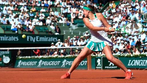 La jeune Jelena Ostapenko atteint la finale à Roland-Garros