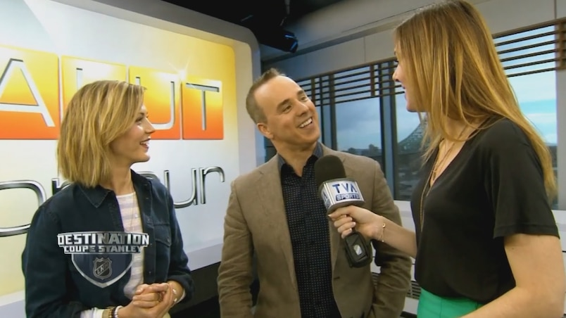 Vanessa Pilon, Gino Chouinard et Isabelle Verge