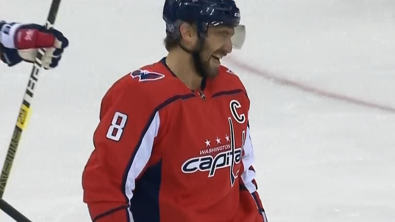 Alex Ovechkin se moque des Red Wings!