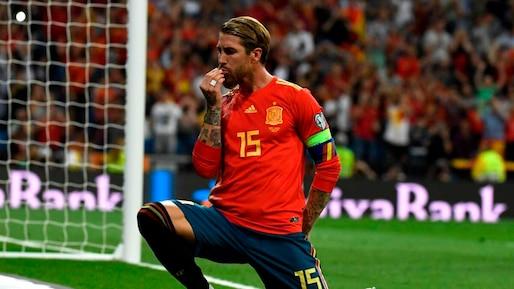 Euro 2020: 168e sélection pour Ramos