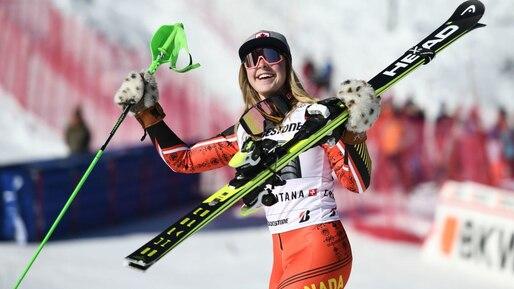 Ski alpin: un podium qui fait du bien à l'équipe canadienne