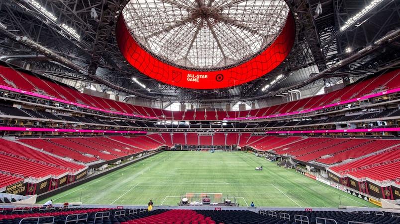 Voyez le stade le plus hallucinant en Amérique du Nord