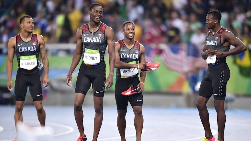 Le Canada remporte le bronze à la suite d'une disqualification